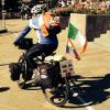 Da San Martino di Castrozza alla Terra Santa in bici: sabato 20/9 Rigamonti sarà a Durazzo in Albania (LE TAPPE)