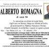 Addio Alberto Romagna, l'ultimo saluto sabato 1 ottobre alle 15 nella Chiesa di Imèr