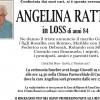 Addio ad Angelina Rattin in Loss, funerali giovedì 19 gennaio alle 14.30 a Caoria
