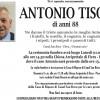 Addio ad Antonio Tisot, funerali lunedì 9 gennaio alle 14.30 nella Chiesa di Fiera – Pieve