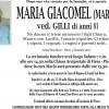 Addio a Maria Giacomel vedova Gilli, funerali sabato 7 gennaio alle 14.30 nella Chiesa di Fiera – Pieve