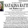 Addio a Natalina Rattin vedova Rattin, funerali mercoledì 18 gennaio alle 14.30 a Ronco