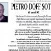 Addio a Pietro Doff Sotta, funerali a Imèr il 3 gennaio alle 14.30
