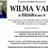 Addio a Wilma Vaia in Terzaghi, funerali martedì 17 gennaio a Saronno nella Chiesa dei SS. Pietro e Paolo