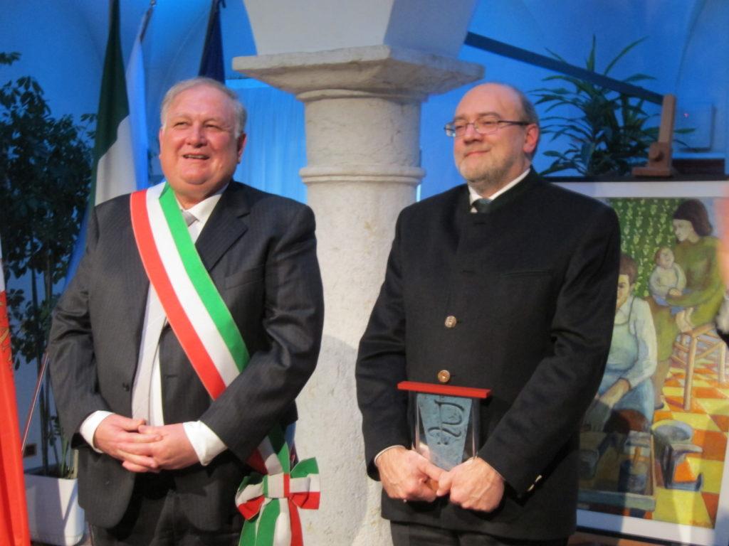 Dellai a Pergine con il sindaco