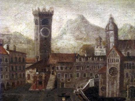 Trento, uno dei dipinti in mostra al Museo diocesano tridentino in occasione di Palazzi aperti, 5-10 maggio