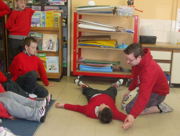 first aid lesson kids