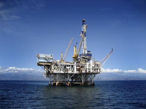 piattaforma trivellazione petrolifera