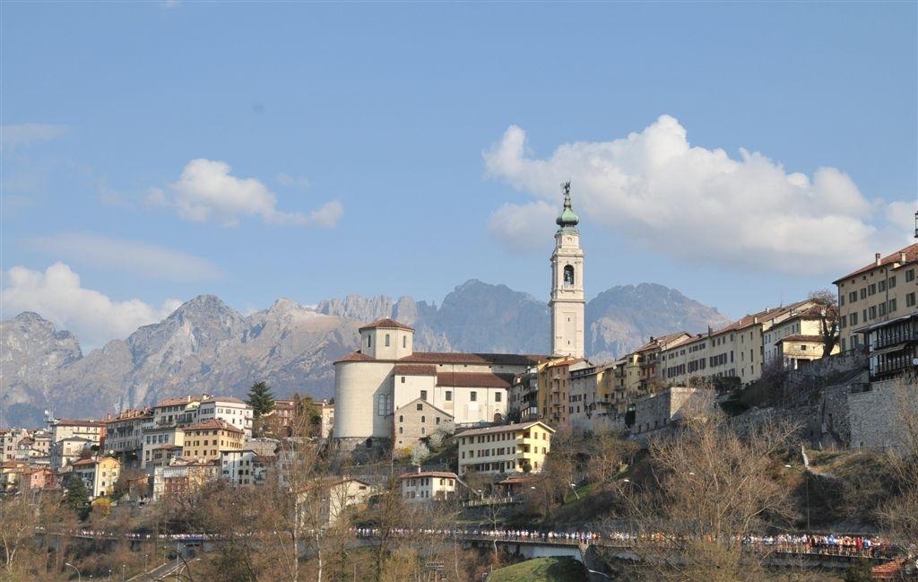 Belluno_Feltre_panoramica sulla città