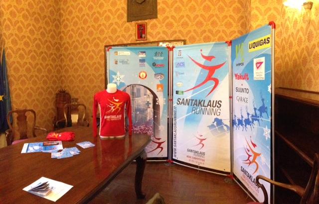 maglia Santa Klaus Running 2013