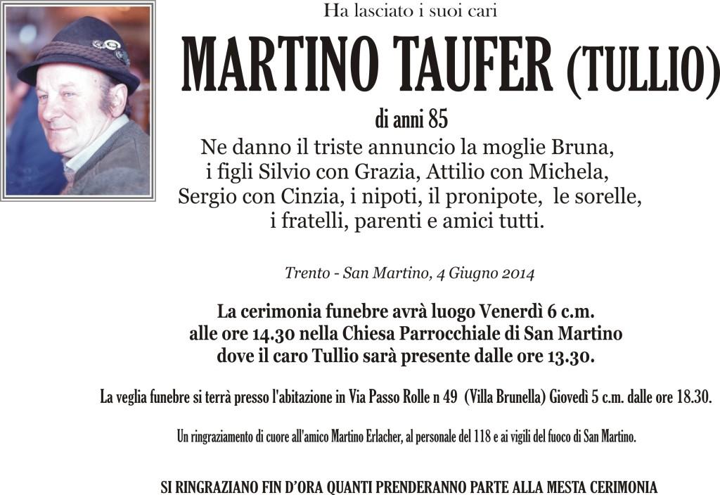 Taufer Martino