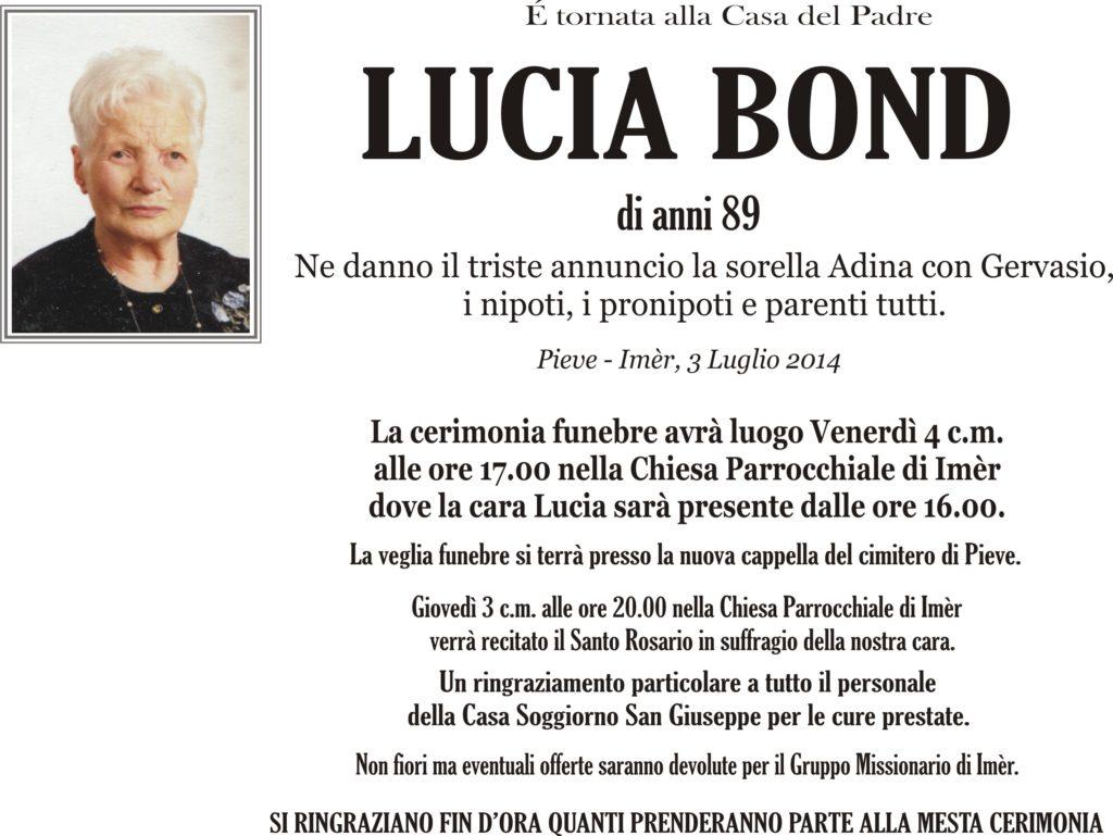 Bond Lucia