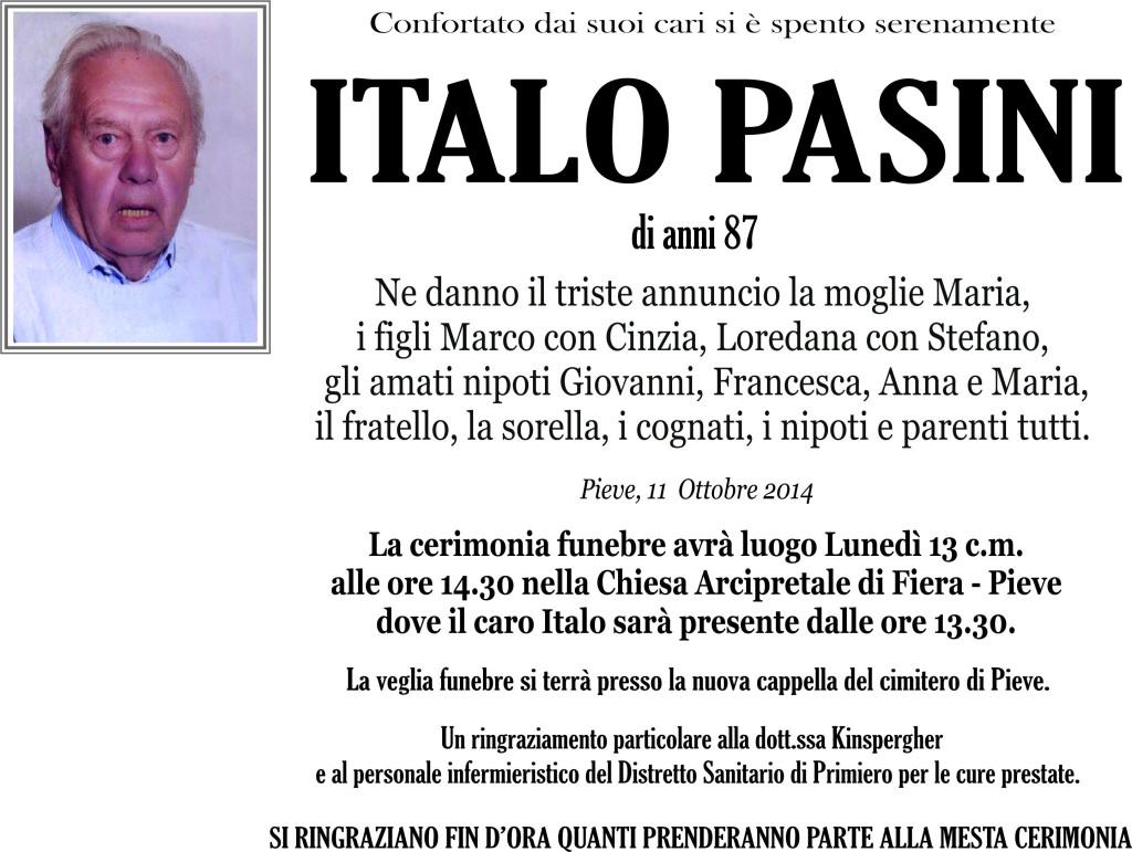 Pasini Italo