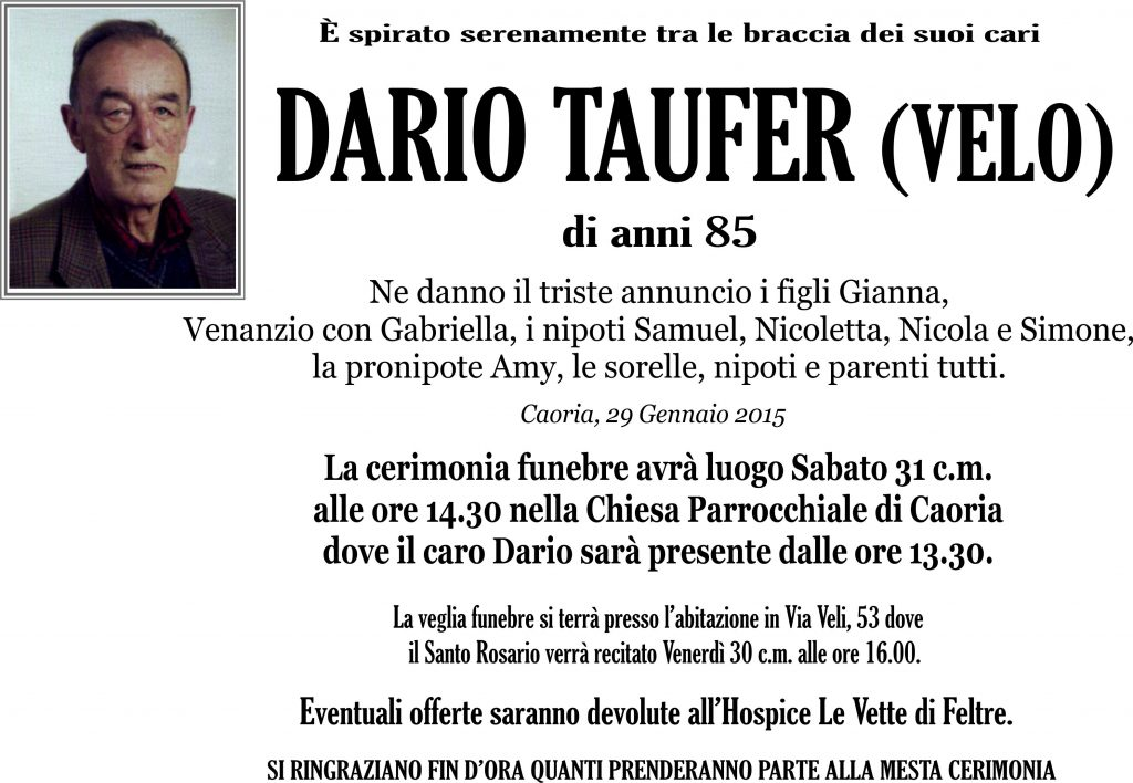 Taufer Dario