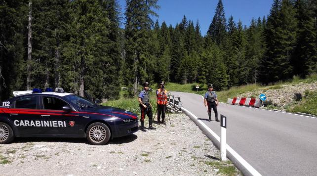 cc Motociclisti indisciplinati, fioccano le multe sulle Dolomiti