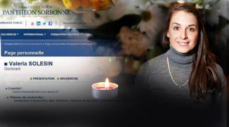 A Trento piazza intitolata a Valeria Solesin morta nell'attentato terroristico al Bataclan di Parigi