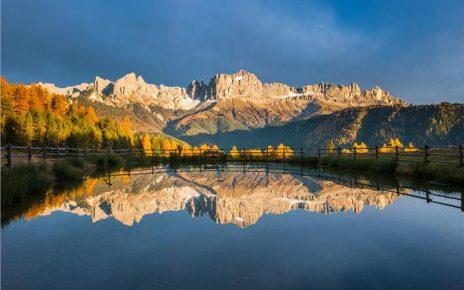 L'autunno e il Catinaccio secondo Philipp Franceschini