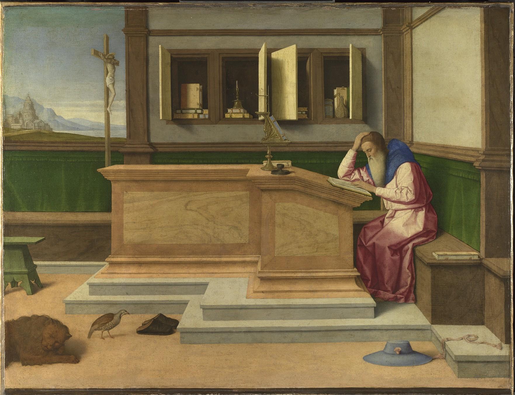 San Girolamo nel suo studio Catena