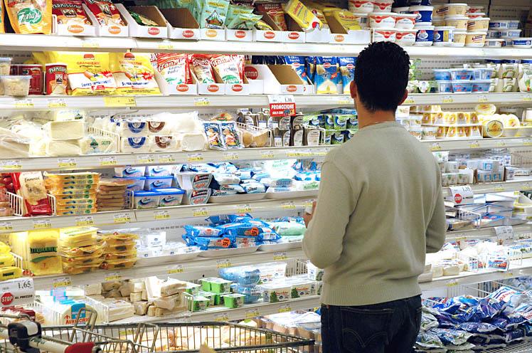 La spesa al supermercato