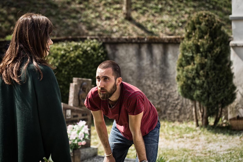Il-regista-Mirko-Pincelli-sul-set-con-Francesca-Neri