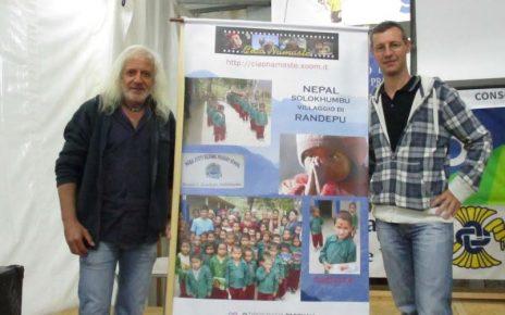 Mario Corradini e Massimo Dorigoni al Palagodimondo