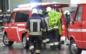 Camion in fiamme a Bolzano