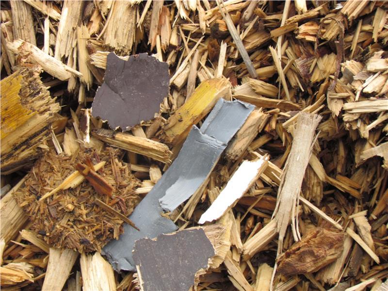 L'utilizzo di rifiuti speciali quali cippato ad uso combustibile è particolarmente pericoloso per la salute a causa dei gas velenosi che si sviluppano durante la combustione (Foto: USP/Corpo Forestale della Provincia)