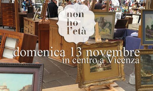 Vicenza U2013 Si Respira Già Lu0027atmosfera Dellu0027avvento Nellu0027appuntamento Con Il  Mercato Dellu0027antiquariato, Collezionismo E Vintage U201cNon Ho Lu0027etàu201d,  Realizzato In ...