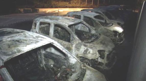 Rovereto: ennesimo attentato incendiario contro le auto delle Poste