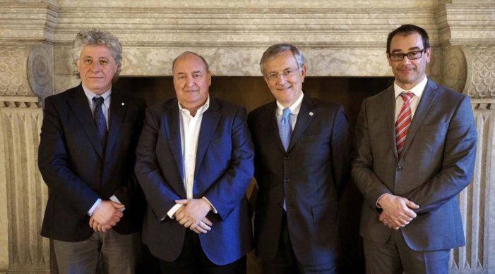 Camera di Commercio, a palazzo Roccabruna si incontrano le due Giunte di Trento e Bolzano