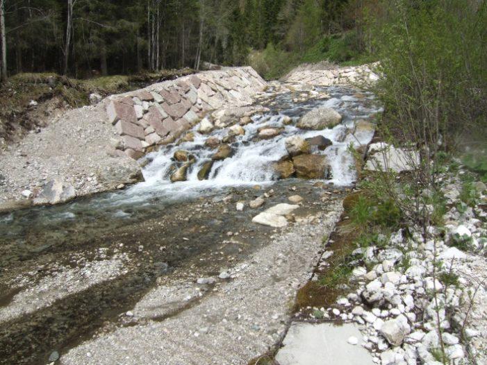 Pianaz in Val di Zoldo: interventi per 1,5 milioni per ridurre il rischio idrogeologico