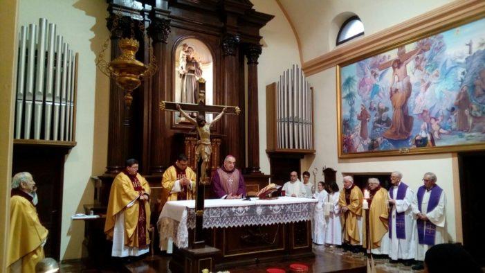 Primiero accoglie le Suore Clarisse Cappuccine con l'Arcivescovo Tisi (FOTO)