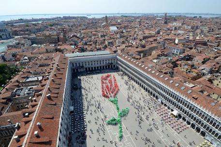 Venezia festeggia liberazione e San Marco