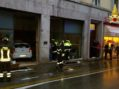 Auto senza controllo distrugge negozio a Vicenza