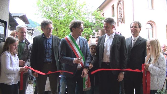"""Scuola Musicale di Primiero, inaugurata la nuova sede nell'ex Municipio di Transacqua: """"Sarà la Casa della Musica"""""""