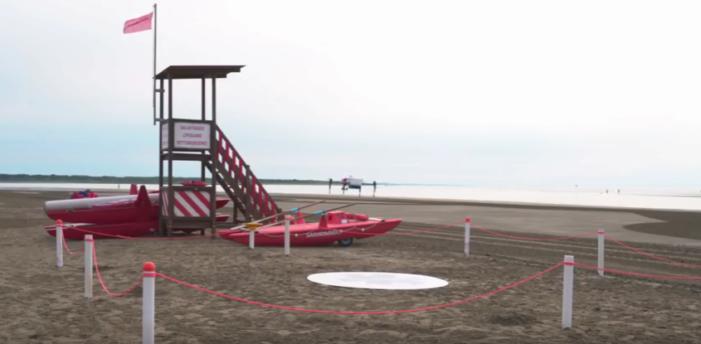 Droni in spiaggia per salvare i turisti (VIDEO)