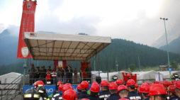 A San Martino di Castrozza, si è chiuso il Campeggio Allievi Vigili del fuoco (FOTO)