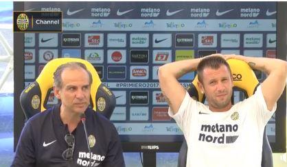 """Dopo la fine del ritiro del Verona a Primiero, Cassano: """"Lascio anche il calcio"""""""