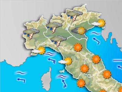 Allerta Meteo a NordEst: forti temporali anche sulle Dolomiti