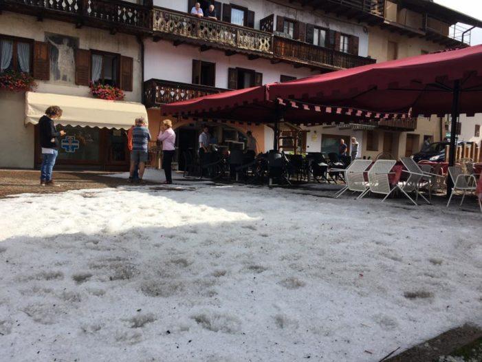 Maltempo a NordEst: temporali, pioggia e grandine sulle Dolomiti. Stato di Crisi in Veneto (VIDEO)