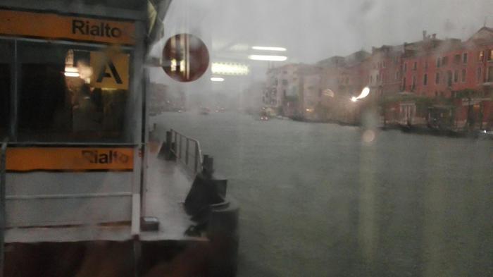 Bomba d'acqua e grandinate nel veneziano