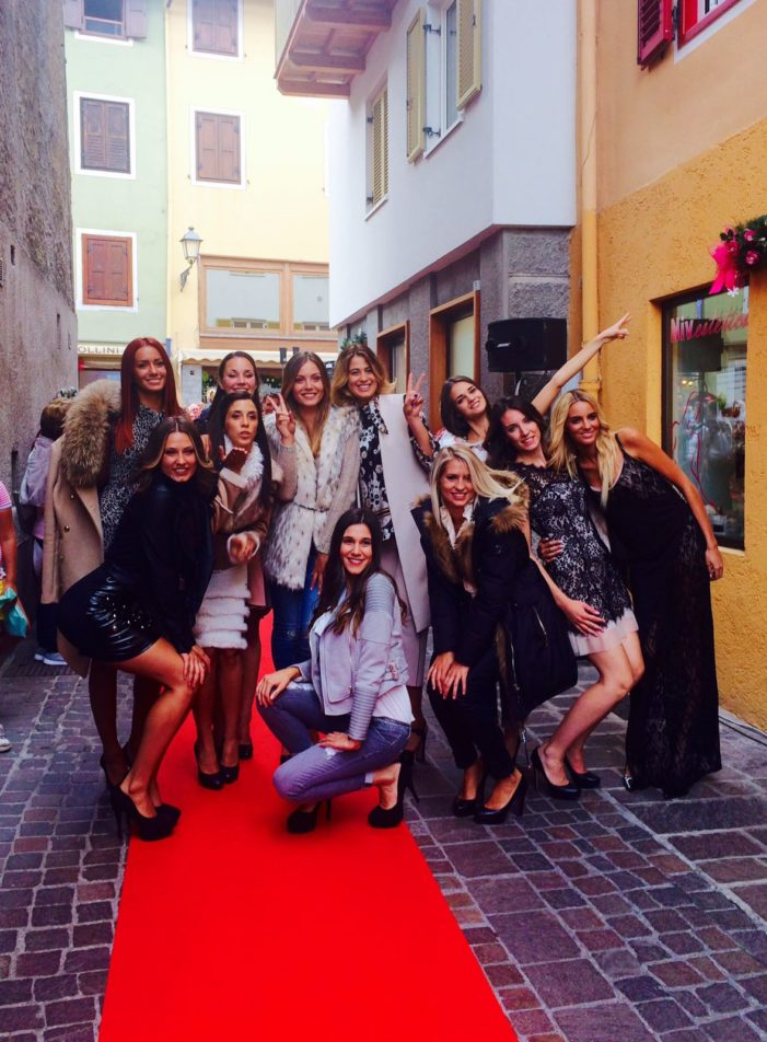 "A Fiera di Primiero Miss e Alta  Moda in passerella con ""Red Carpet Collection"""