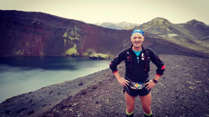 Il maratoneta Vittorio Cerqueni non si ferma mai: 185^ corsa in Islanda, la 24^ dell'anno (FOTO)