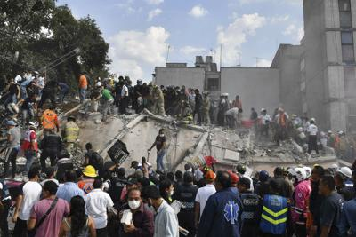 Messico devastato dal terremoto: si temono 1.000 vittime