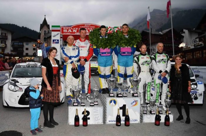 Rallye San Martino di Castrozza 2017, quarto podio dolomitico per Marco Signor e Patrick Bernardi su Fiesta Wrc (VIDEO)