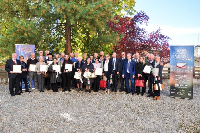 Le Aquile dell'Associazione 50&Più: sono 33 i nuovi Maestri del Commercio del Trentino