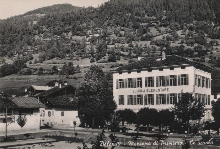 L'ex Scuola di Mezzano, oggi sede comunale, compie 115 anni: inaugurata il 12 ottobre 1902 (LA STORIA)
