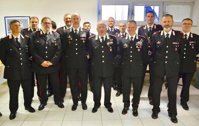 Carabinieri, in Trentino calano furti e rapine