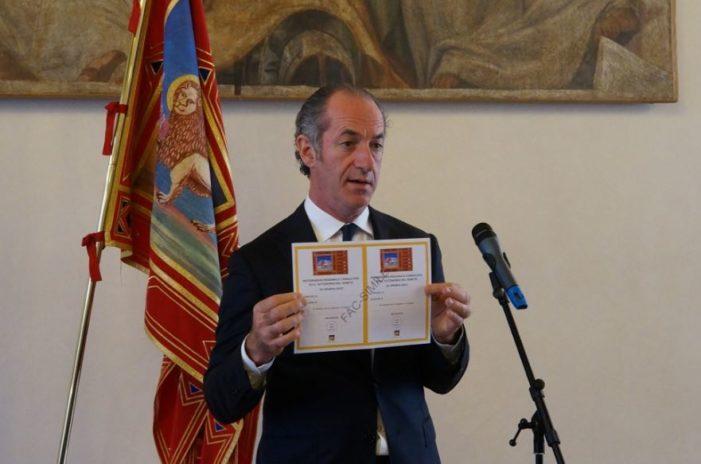 Autonomia Veneto, trattativa al via dal 23 novembre