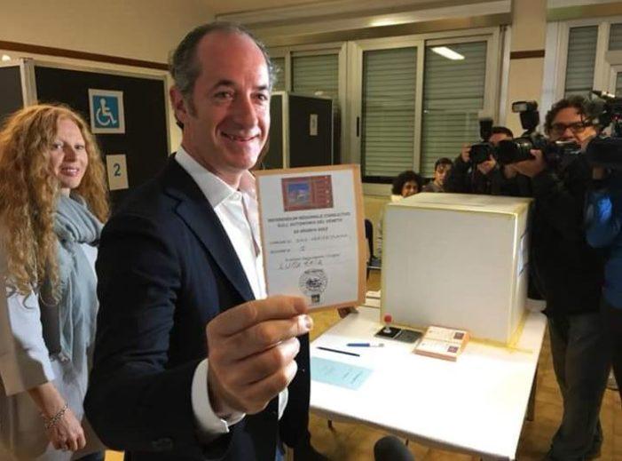 """Autonomia al Veneto, firma più vicina. Zaia: """"Si apre la fase politica"""""""